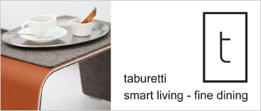 Taburetti by Patricia Baumgartner Design, smart living, fine dining