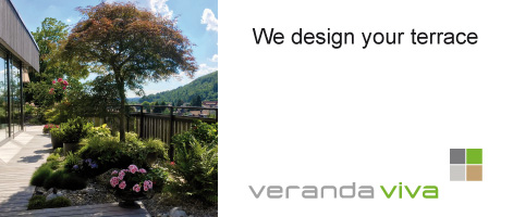 Design of terraces by veranda viva Zurich, Switzerland