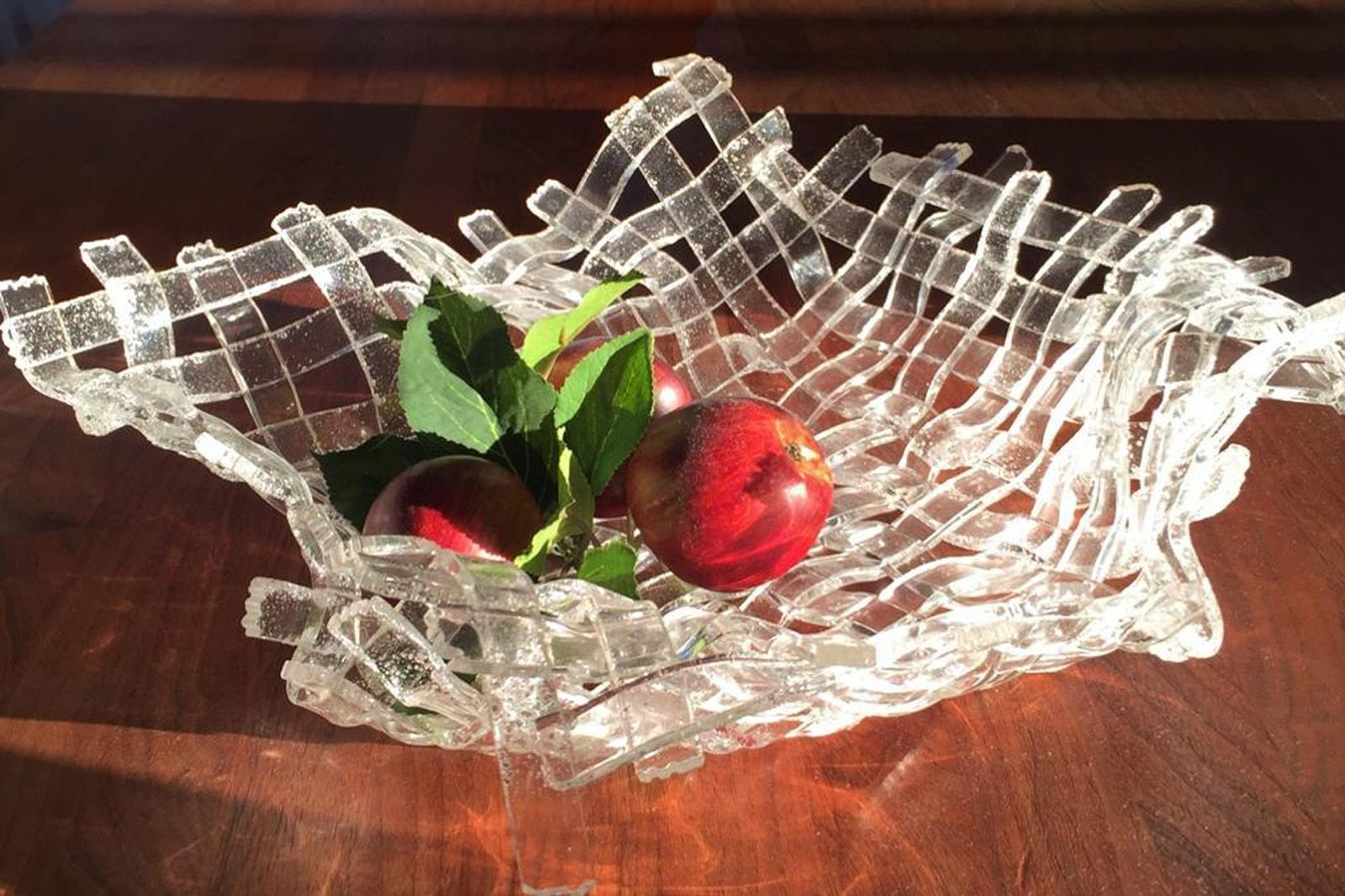 Plexiglass fruit bowl by FREWAG